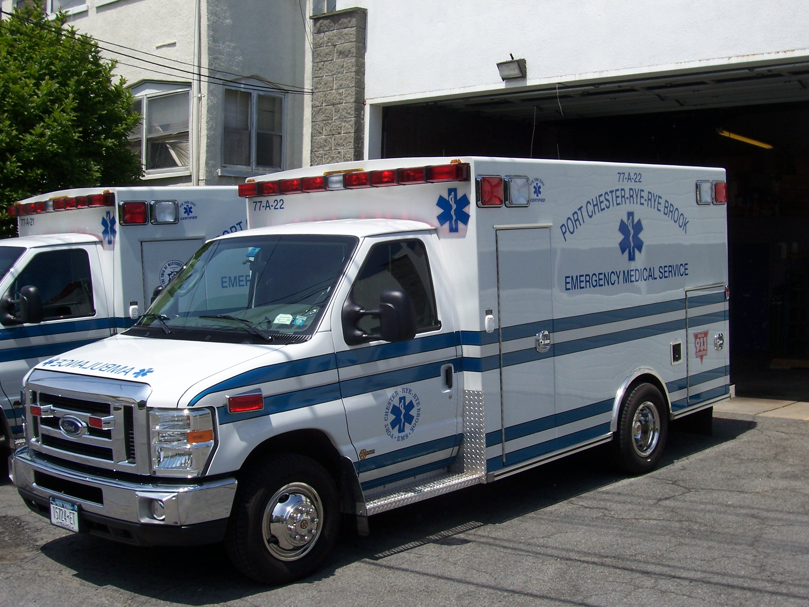 Port Chester EMS Ambulance